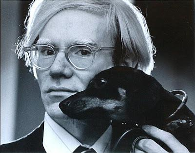 andy warhol_and_his dachshund